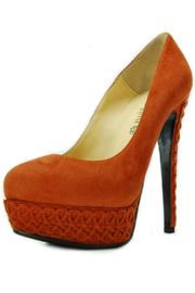 Nando Muzi Braided Suede Pump - Product Mini Image