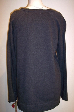 Johnny Was Collection Nanette Cross-Stitched Sweatshirt - Alternate List Image