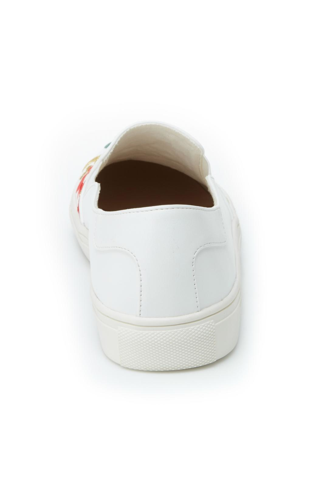 Nanette Lepore Whimsical Embroidered Sneaker - Side Cropped Image