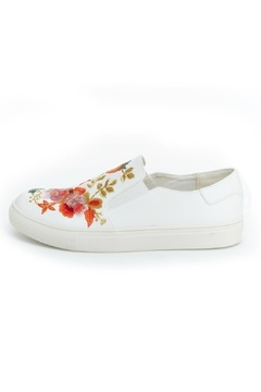 Shoptiques Product: Whimsical Embroidered Sneaker