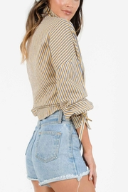 Lucca Nani Collar Blouse - Front full body