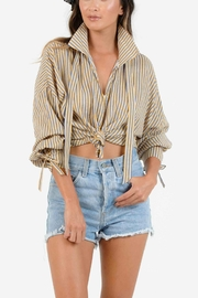 Lucca Nani Collar Blouse - Front cropped