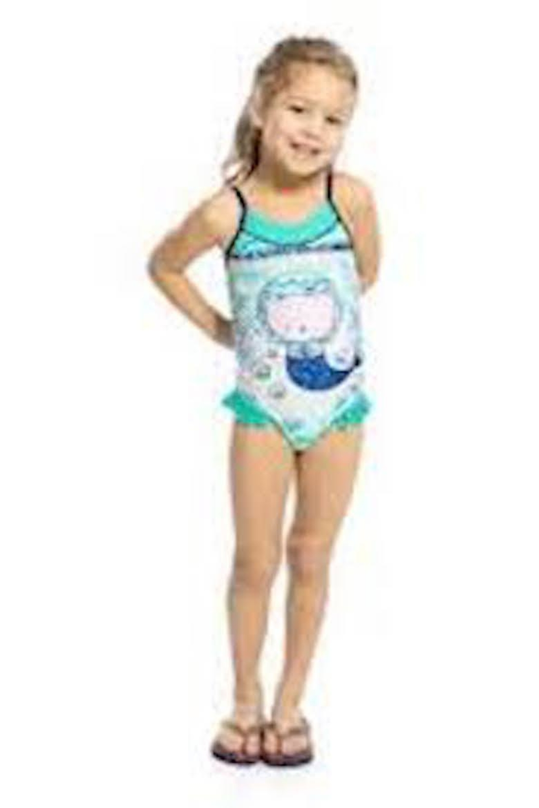NaNo Girls Mermaid One-Piece - Front Cropped Image