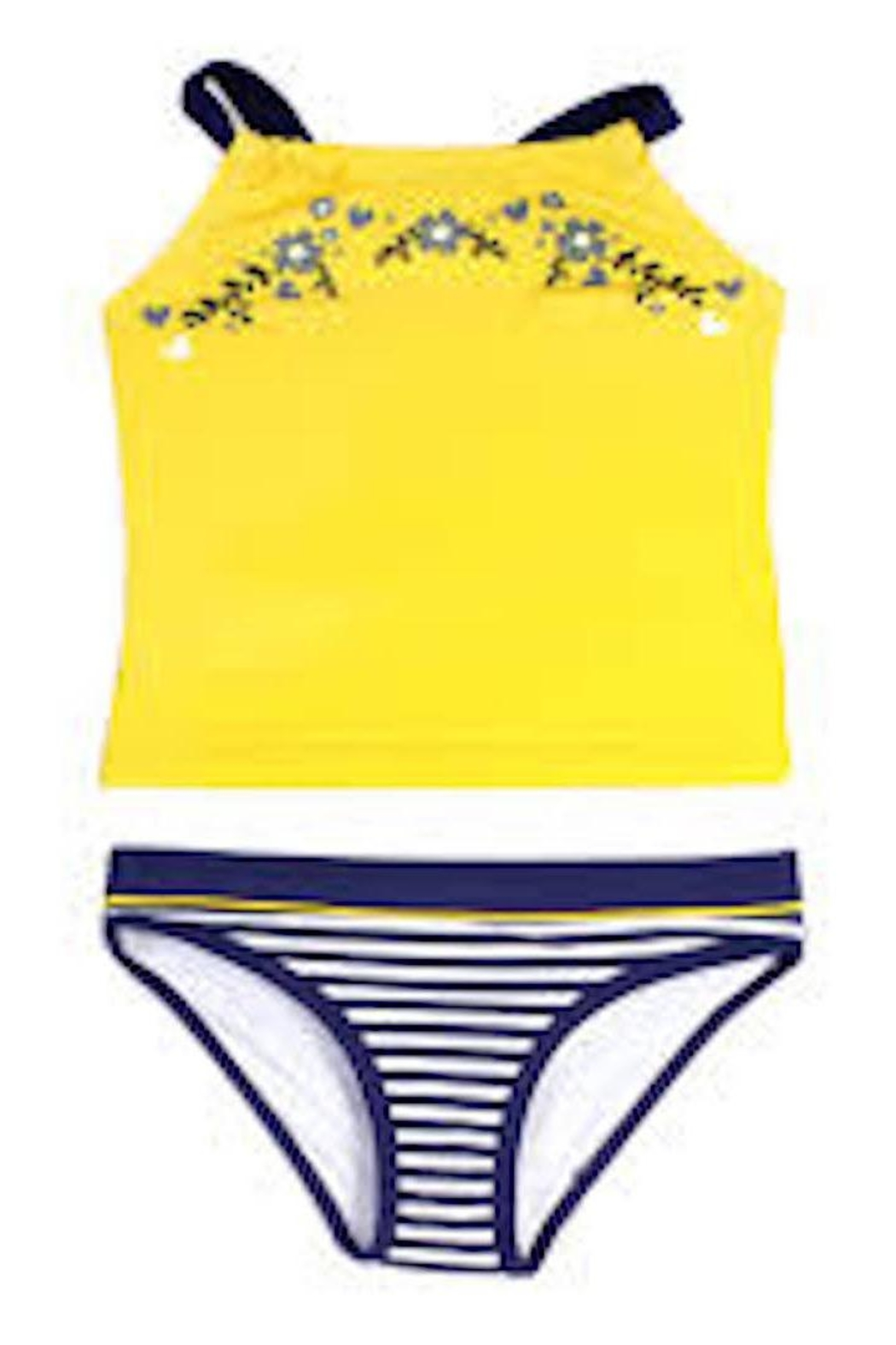 NaNo Girls Tankini Set - Front Full Image
