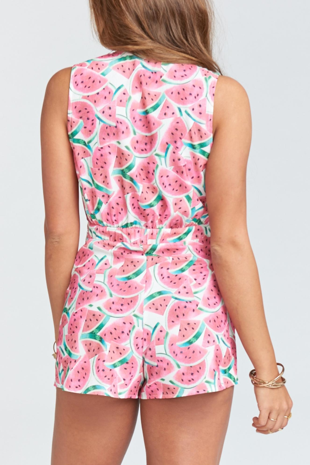 Show Me Your Mumu Nantucket Romper - Side Cropped Image