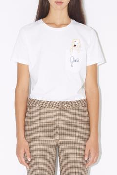 Shoptiques Product: Ginie Embroidered Tee