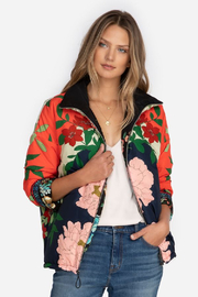 Johnny Was Nanya Reversible Parker - Front cropped