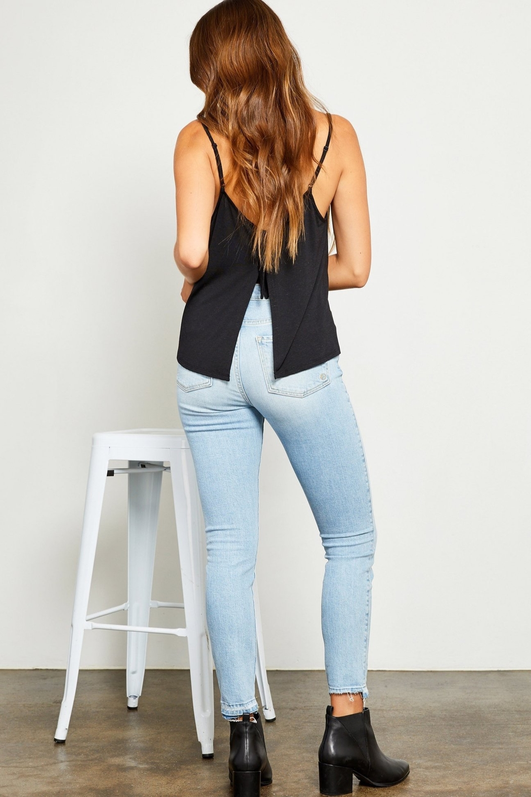Gentle Fawn Nao Split Back tank - Front Cropped Image
