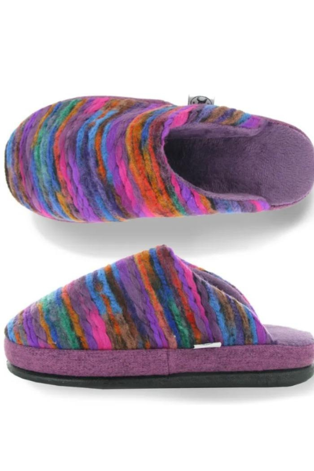 Naot Recline Slippers - Front Full Image