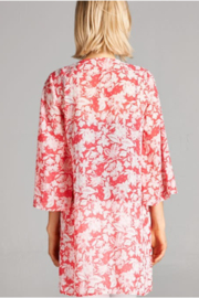 DNA Couture Naples Floral Kimono - Front cropped