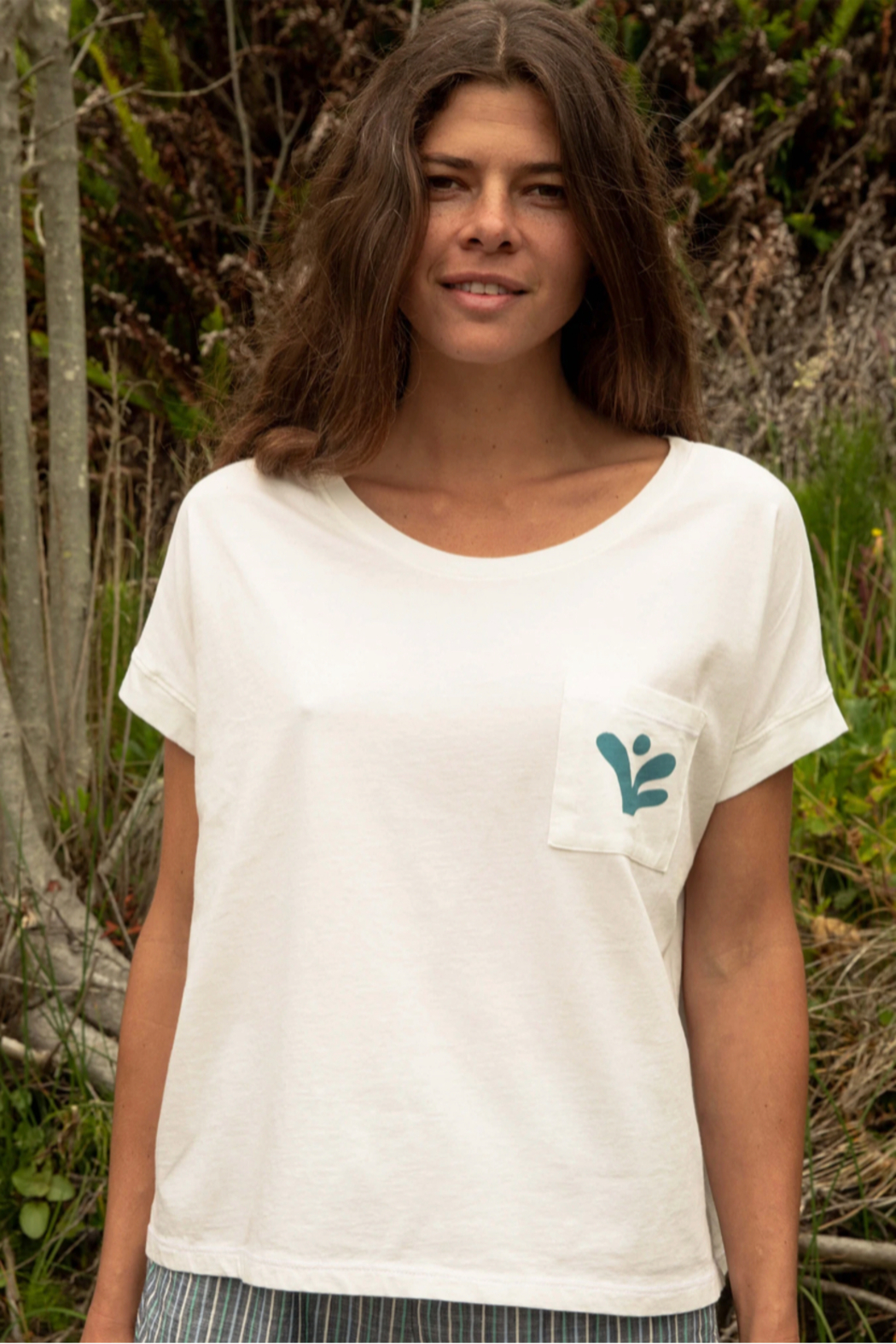 Mollusk Napes Pocket Tee - Front Cropped Image