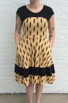 Effie's Heart Napoli Feather Dress - Product List Image