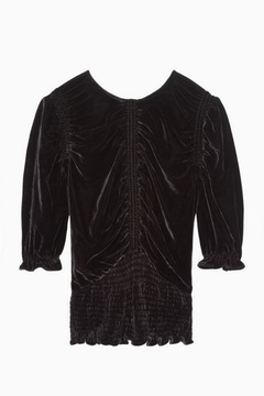 Parker Narissa Velvet Blouse - Alternate List Image