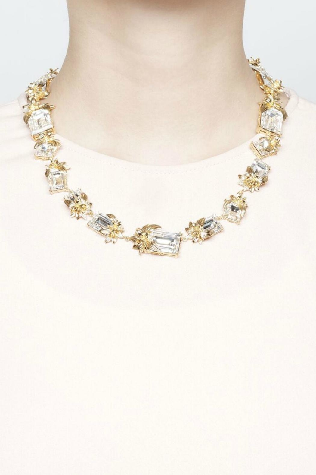Narratives The Agency British Floral Necklace - Front Full Image