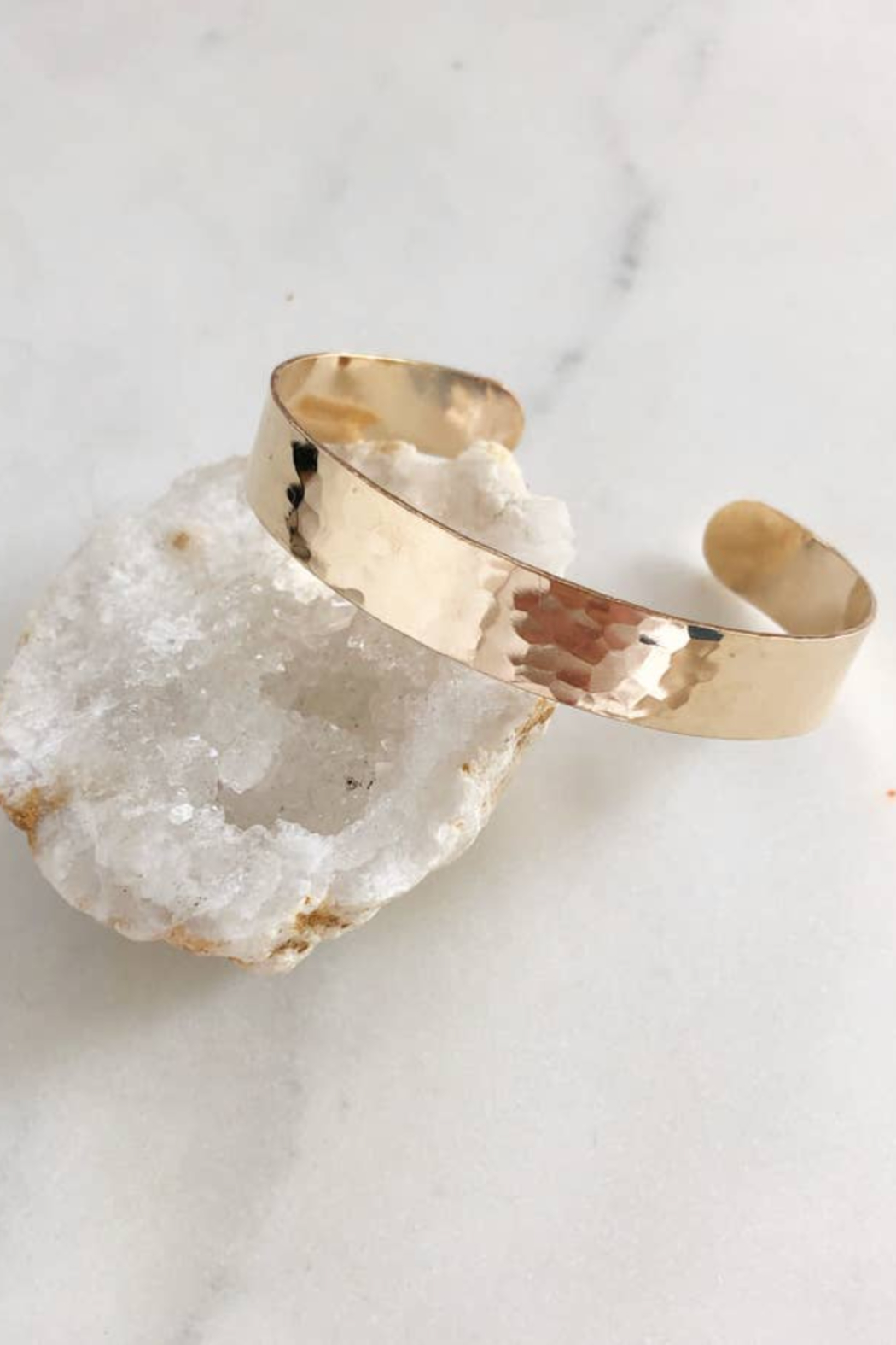 Token Jewelry Narrow Cuff - Front Full Image