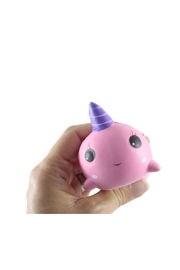 Toysmith Narwhal Squishy - Product Mini Image