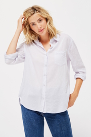 LACAUSA Nash super fine button down - ice - Product Mini Image