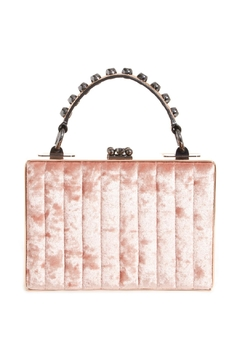 Nasty Gal Crushed Velvet Bag - Alternate List Image
