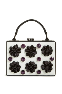 Nasty Gal Flower Applique Bag - Alternate List Image