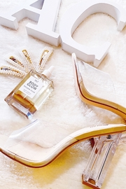 Nasty Gal Sophia Clear Heels - Product Mini Image