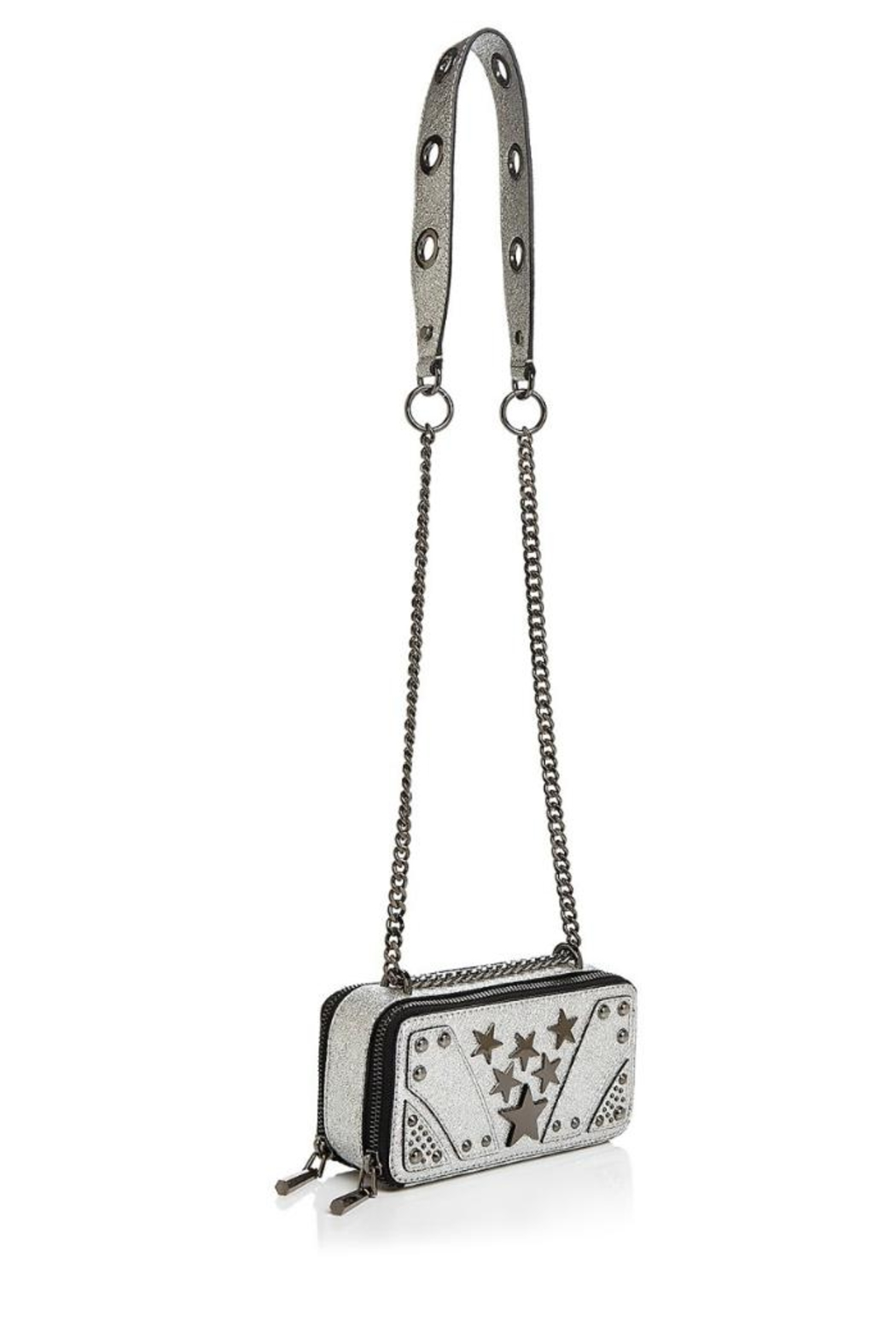 Nasty Gal Suspect Metallic Crossbody - Side Cropped Image