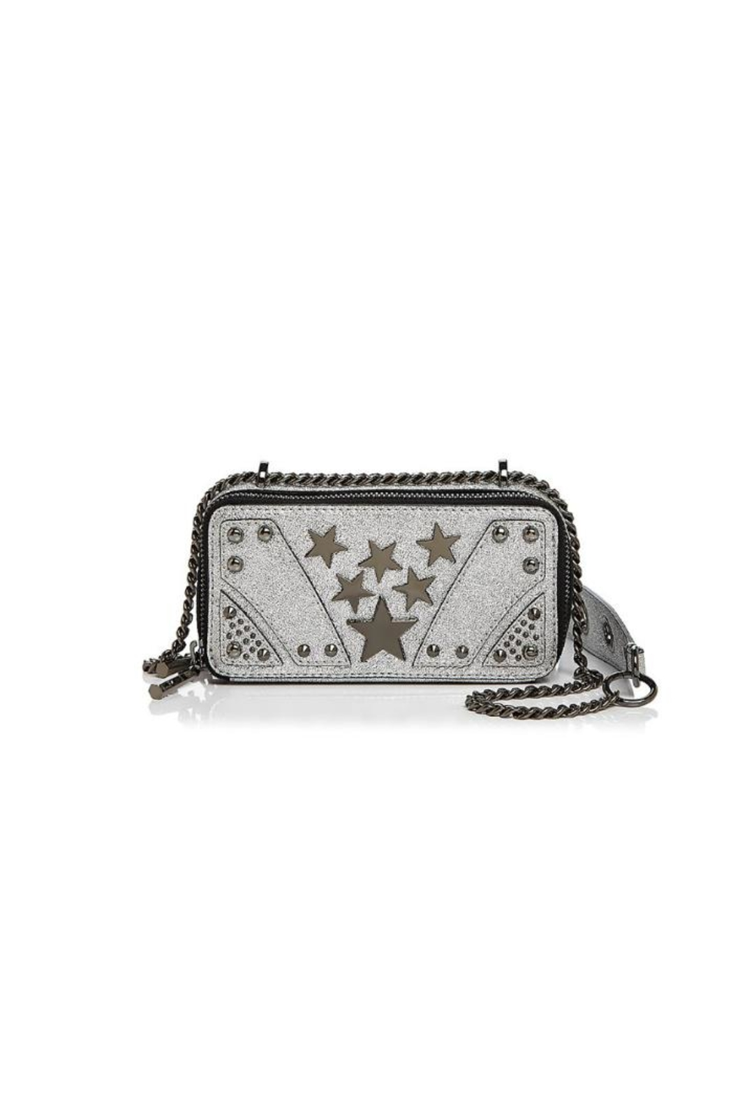 Nasty Gal Suspect Metallic Crossbody - Front Cropped Image