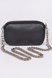 H&D Accessories Nat Chained Clutch - Front cropped