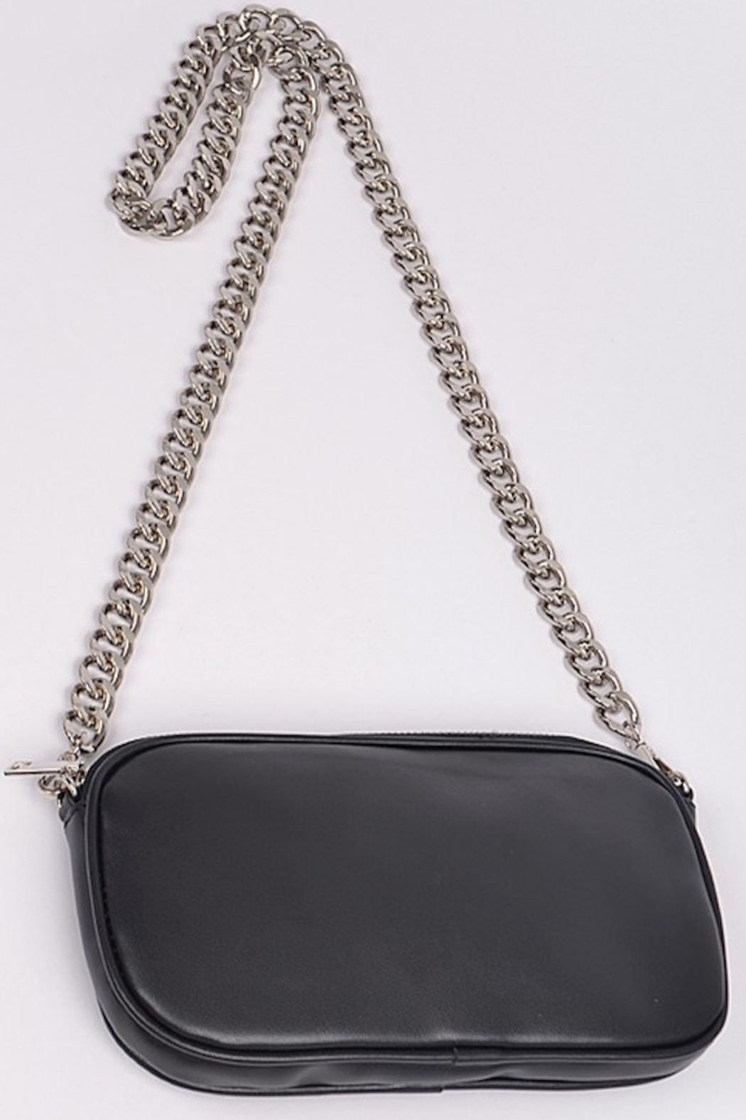 H&D Accessories Nat Chained Clutch - Front Full Image