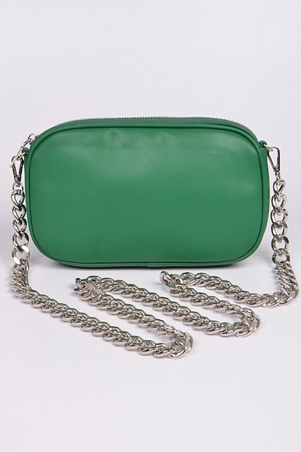 H&D Accessories Nat Chained Clutch - Main Image