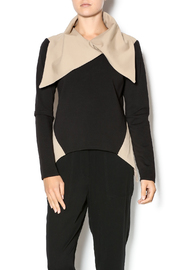 Natalia Romano Large Collared Top - Product Mini Image