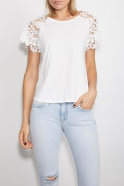 Generation Love  Natalie Crochet-Lace Top - Front cropped