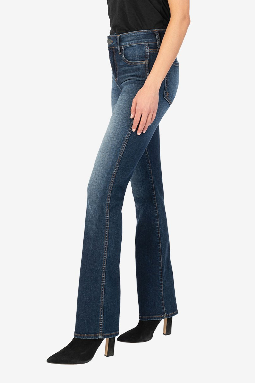 Kut from the Kloth Natalie High Rise Fab Ab - Front Full Image