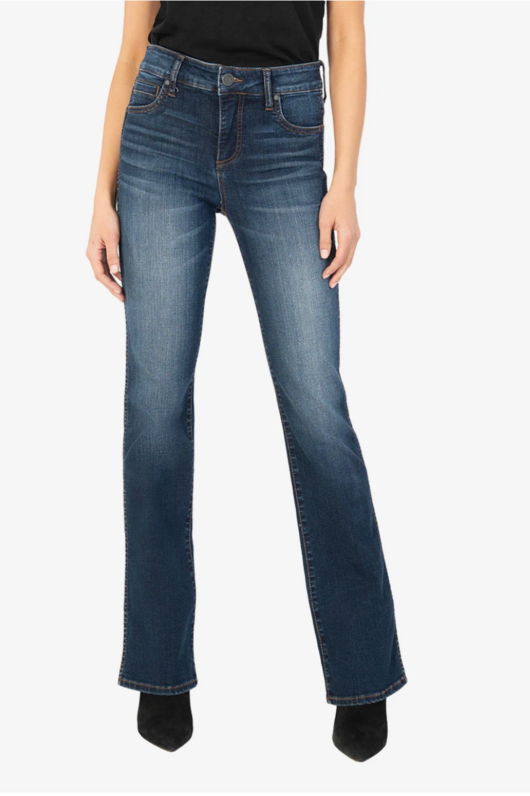 Kut from the Kloth Natalie High Rise Fab Ab - Main Image