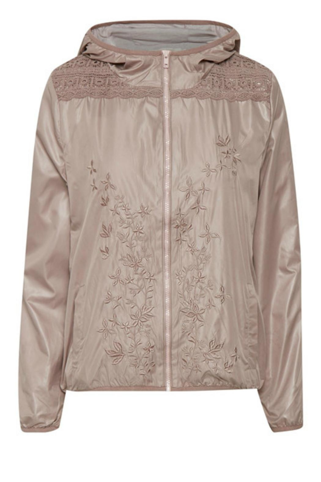 Cream Natalie Jacket - Main Image