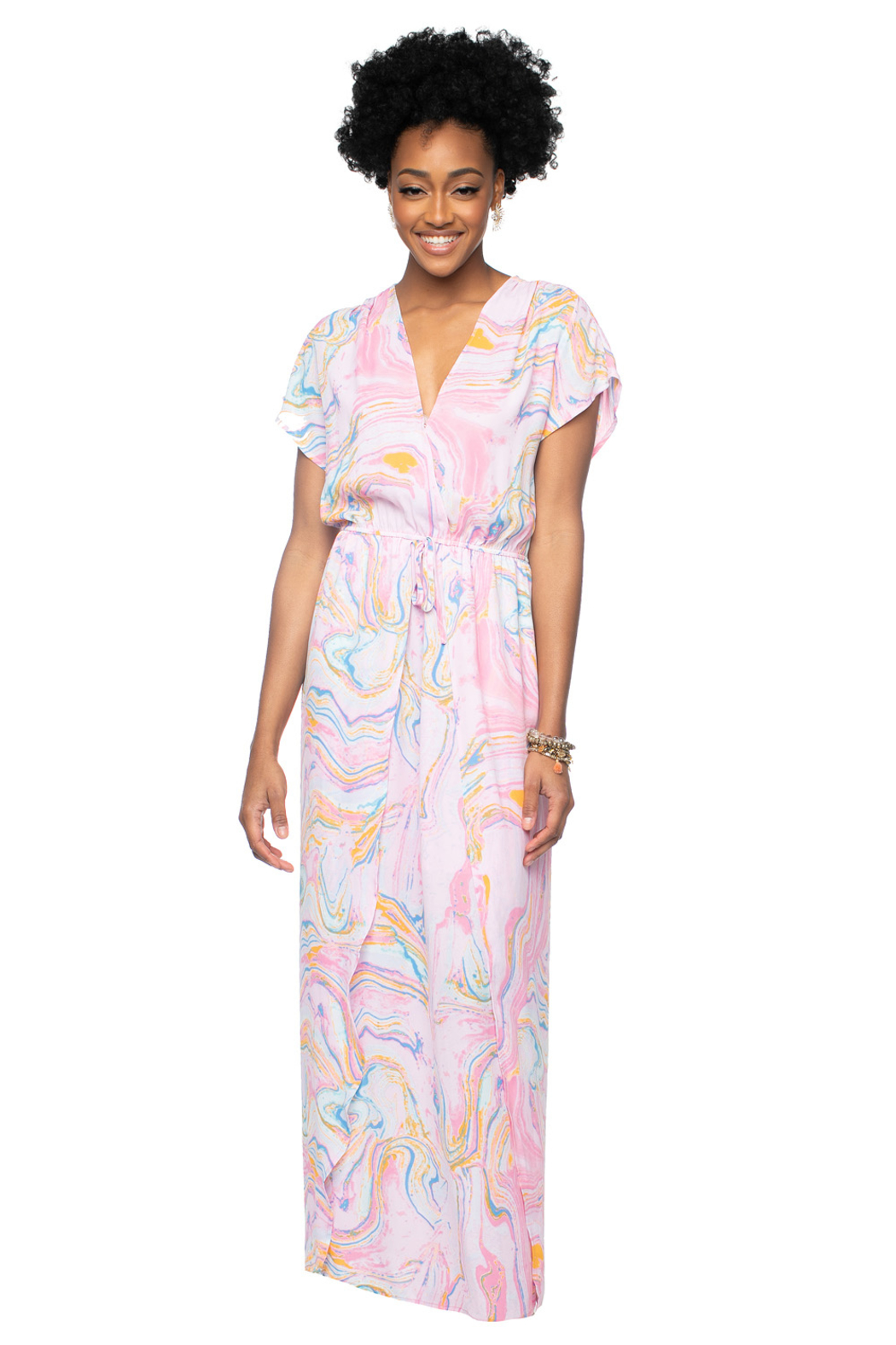 Buddy Love Natalie Maxi Dress - Front Cropped Image