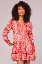 Band Of Gypsies Natalie Mini Dress - Front full body