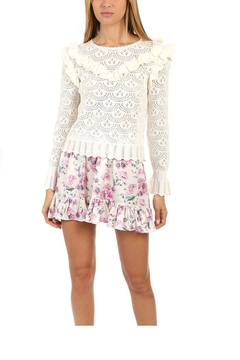 love shack fancy Natalie Sweater - Product List Image