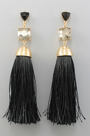 Natasha Couture Fashion Antoinette Tassel Earrings - Product Mini Image