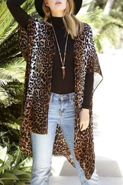 Natasha Couture Fashion Bryana Leopard Kimono - Product Mini Image