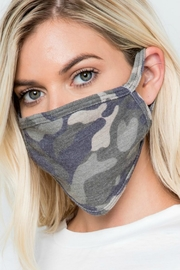 Natasha Couture Fashion Camo Print Face Mask - Product Mini Image