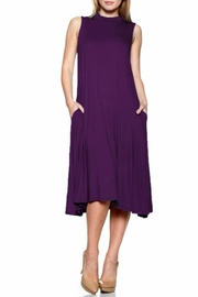 Natasha Couture Fashion Center Stage Pocketed-Dress - Front cropped