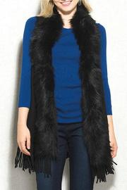 Natasha Couture Fashion Faux Fur Fringe Vest - Product Mini Image