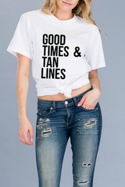 Natasha Couture Fashion Good-Times & Tan-Lines Tee - Product Mini Image