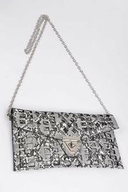 Natasha Couture Fashion Kennedy Cutout Clutch - Front full body