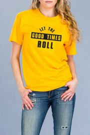 Natasha Couture Fashion Let-The-Good-Times-Roll Tee - Product Mini Image