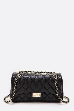 Natasha Couture Fashion Quilted Shoulder Bag - Product List Image