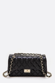 Natasha Couture Fashion Quilted Shoulder Bag - Product Mini Image