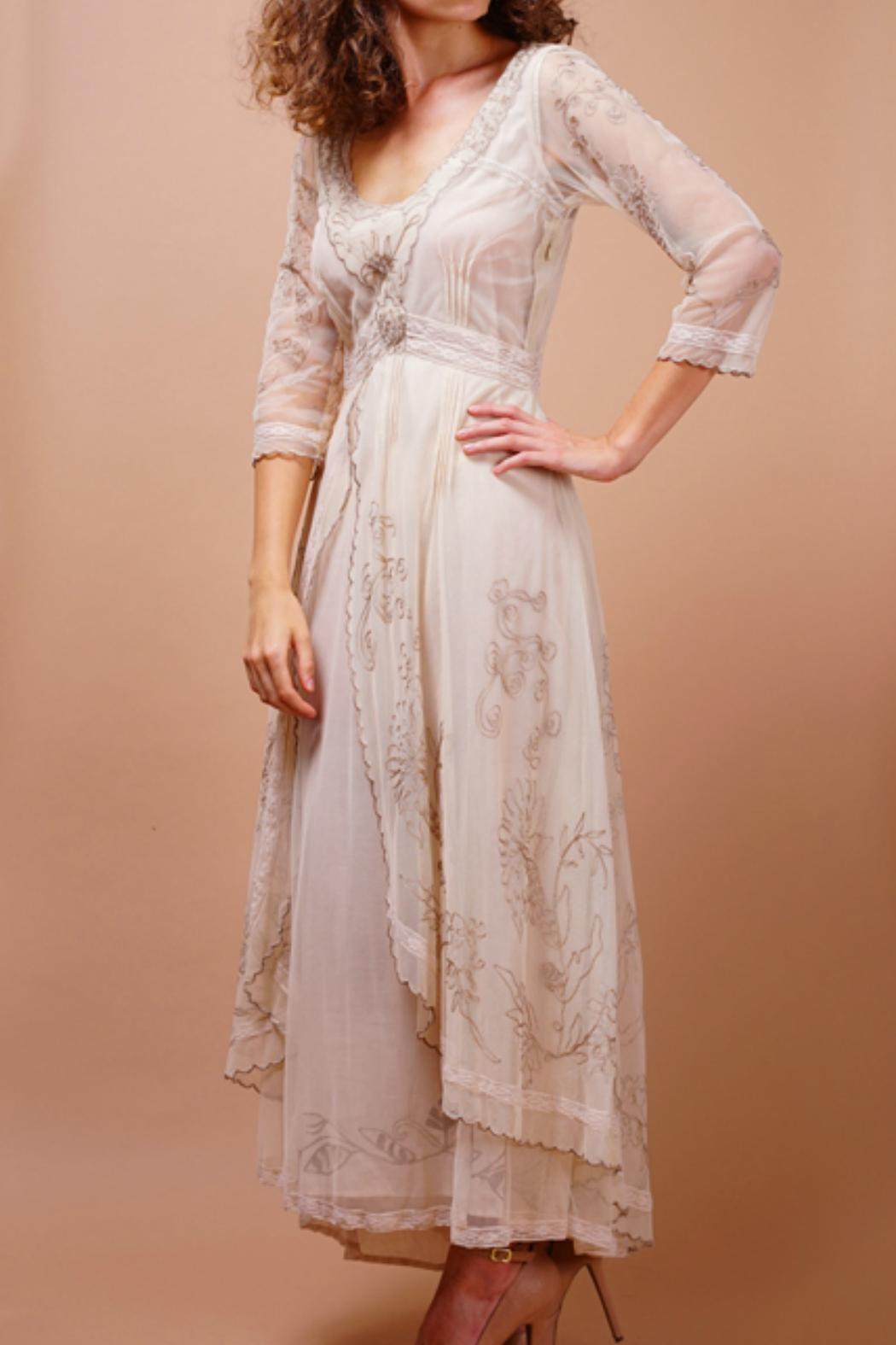 Nataya downton abbey dress from california by discover for Downton abbey style wedding dress