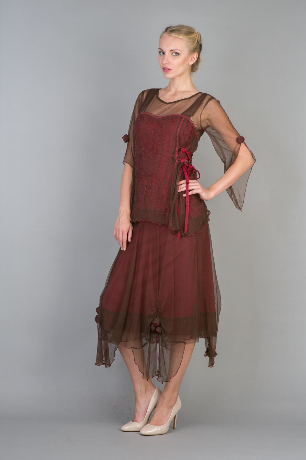 cb84cc1f24c NATAYA Embroidered Boho Dress from Wallingford by The Dressing Room ...