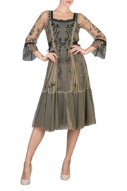 NATAYA Romantic Vintage Dress - Product Mini Image